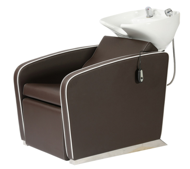 Spa Source ROMEO Backwash Chair Espresso Side
