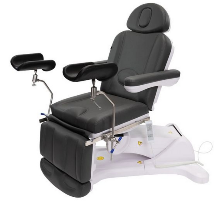 SPA SOURCE - KLYNE (OBGYN & GYNECOLOGY) with Stirrups Exam Chair Table