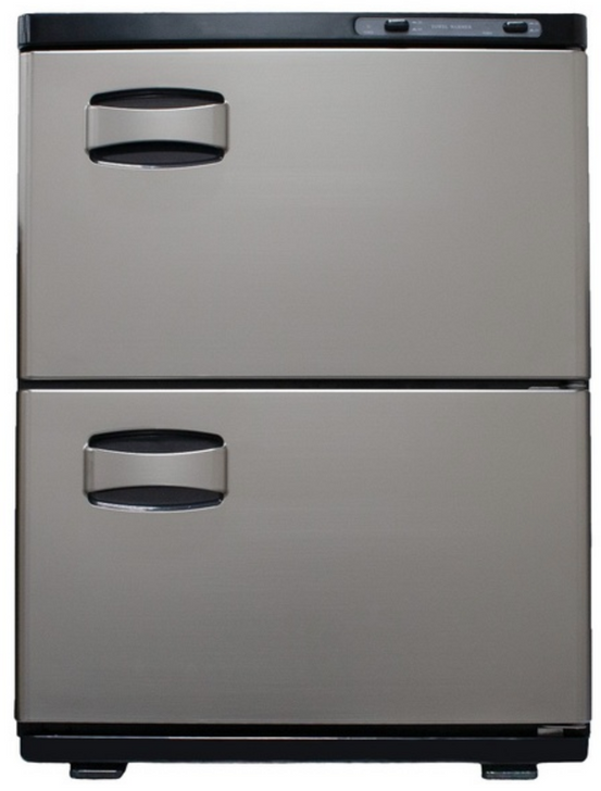 SPA SOURCE LLC, Elite Double Cabinet Stainless Towel Warmer,  AYC Double door stainless towel warmer 45L, SKU KDA TWAPP 45, towel warmer, double door towel warmer, 45l, medical equipment, spa equipment, salon equipment,