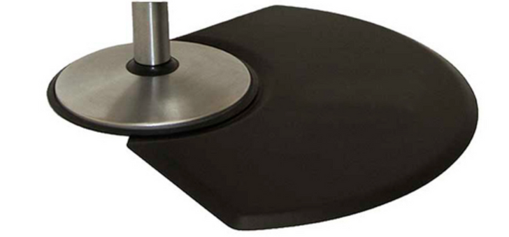 Spa Source classic series Square 5 8 inch Thick 4 Ft Deep No Chair Depression, thick quarter round, unique mats by IC Urethane products, 3045Q, salon equipment usa salon chair mats, chair mats, salon mats, no depression chair mats, styling mats, chair depression fits a 24 inch round base, barber equipment, salon supplies, spa equipment, amazon, American floor mats, buy rite beauty, sally beauty, CosmoProf equipment, Minerva beauty, wellness mats, salon comfort mats, tranquility series, salon sponge mats, durable salon mats, anti-fatigue comfort mats, floor mat for salon chair, anti dandruff shampoo, anti thinning shampoo, barber chair, chai for beauty salon