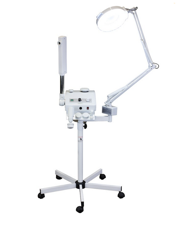 Spa Source LLC, Magnifying Lamp, brush, facial steamer , spa equipment, salon equipment, aesthetician, facials, facial, mag light, facial brush, multifunction machine, skin scrubber, skin care, magnifying, pores, cleansing aromatherapy, ozone, aroma facial steamer, essential oil therapy, skin act, classic spa collection