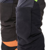 Grey/Green Zero chainsaw pants lower view