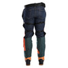 DefenderPRO chaps zipped rear view