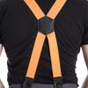 Orange button back