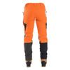 Clogger Hi-Vis Orange Zero Women's Chainsaw Pant back view