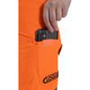 Clogger Hi-Vis Orange Zero Women's Chainsaw Pant cellphone pocket