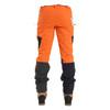 Hi-Vis Orange Zero Men's Chainsaw Pant - Back