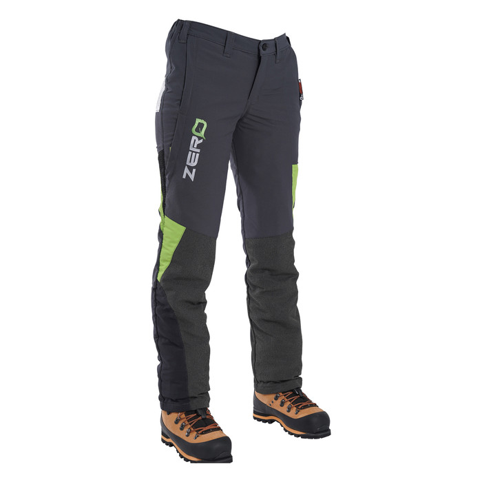 Clogger Grey Zero Women's Chainsaw Side