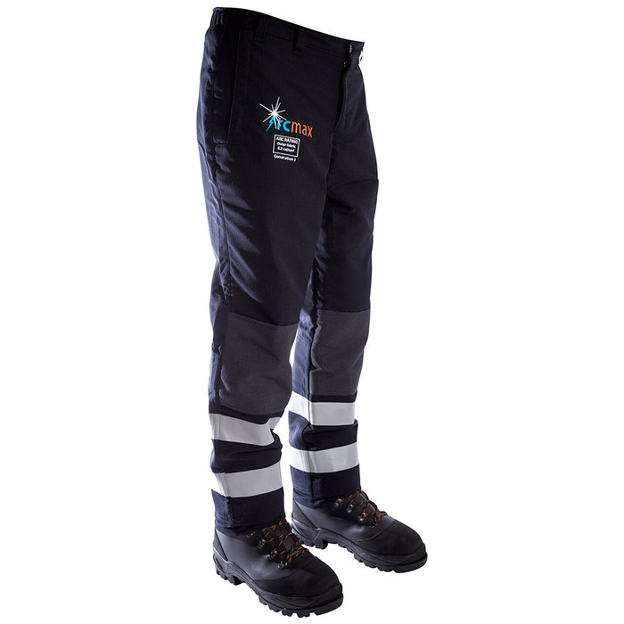 Arcmax Premium Gen2 Men's Arc Rated Fire Resistant Chainsaw Trousers (Clearance)