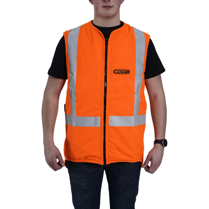 Clogger day/night vest front