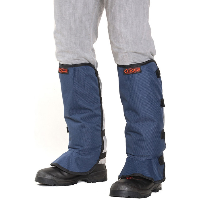 Line Trimmer Blue velcro front view