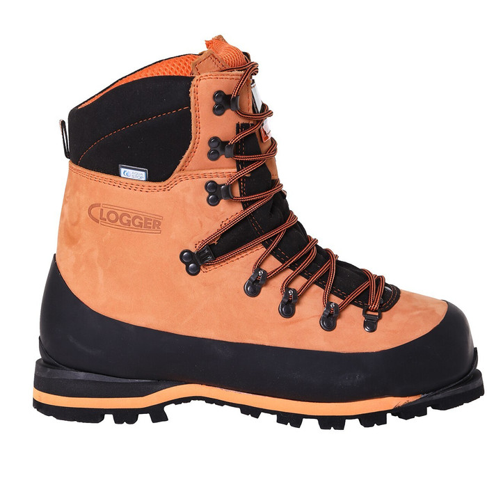 Clogger Chainsaw Boots lacing system