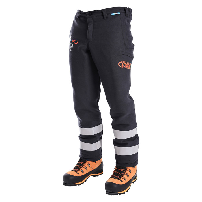 Arcmax Fire Resistant Chainsaw Pants Right Front View
