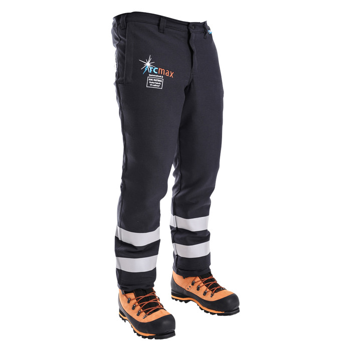 Arcmax Fire Resistant Chainsaw Pants Left Front View