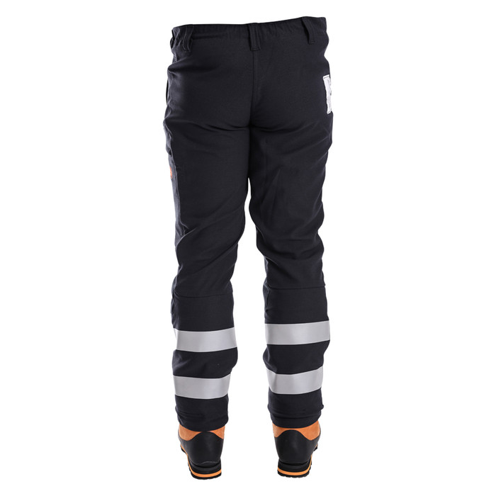 Arcmax Arc Rated Fire Resistant Women's Chainsaw Pants Rear View