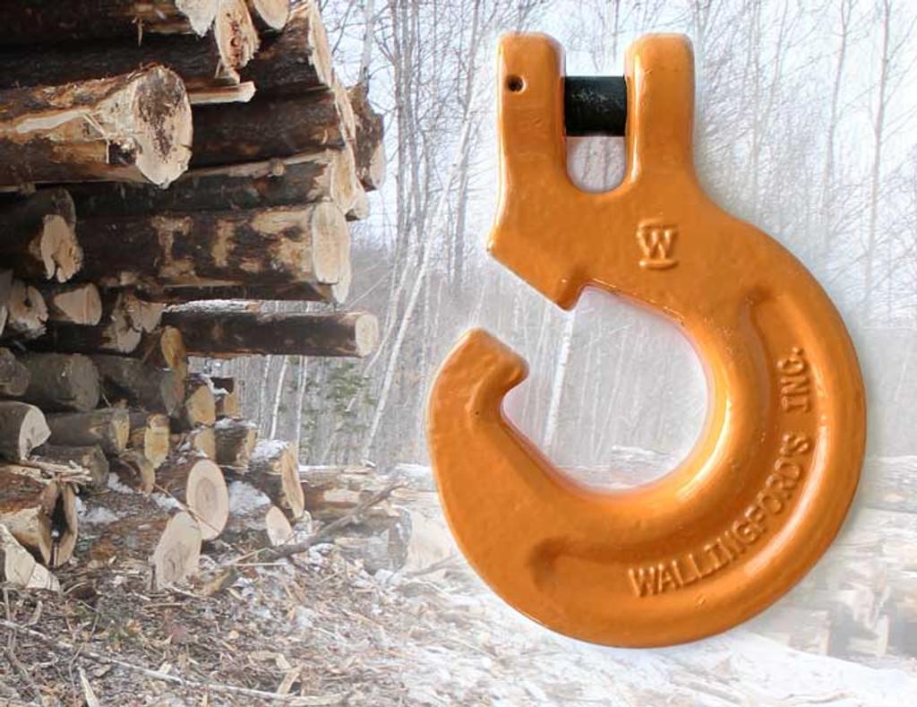 "Wallingford's Loggerhook™  for 3/8"" & 5/16"" logging chain"