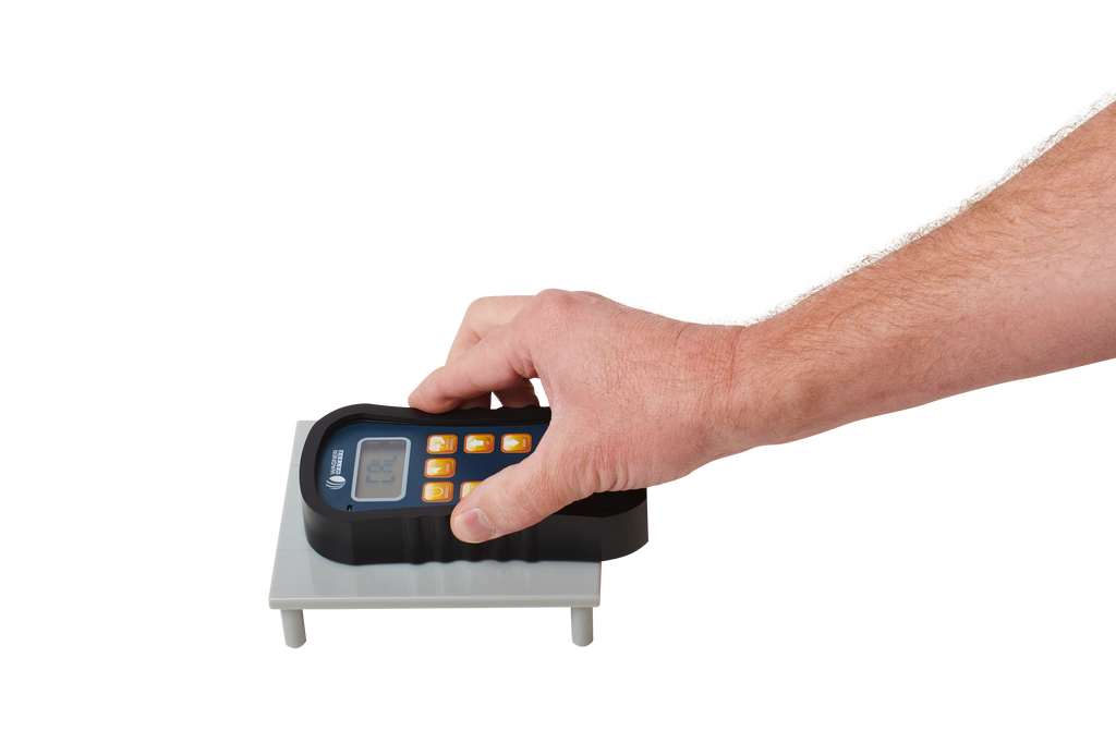 Wagner Orion 950 Moisture Meter w/ on-demand calibrator