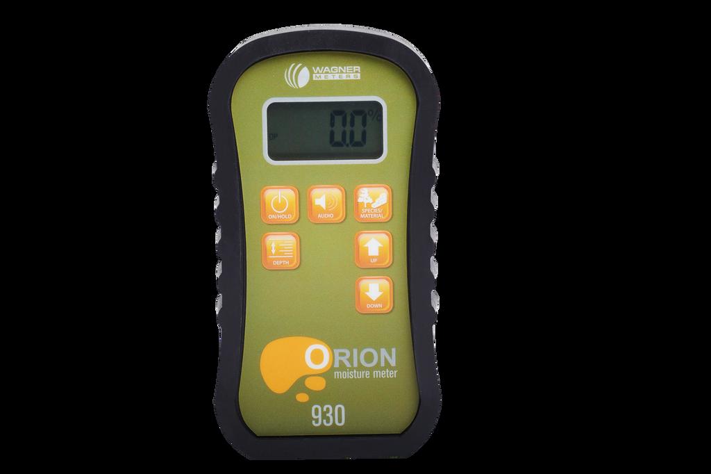 Wagner Orion 930 Moisture Meter w/ on-demand calibrator
