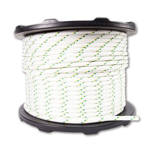 "Portable Winch PCA-1216M Double Braid Polyester Rope 1/2"" x 656'"