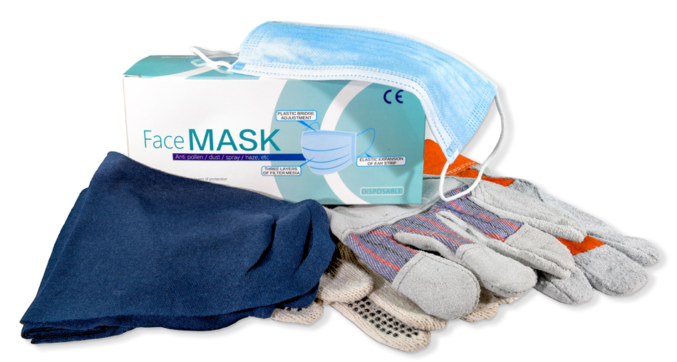 safety products masks gloves