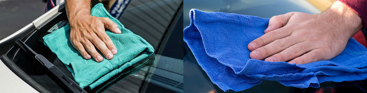 Car Wash Window Towels