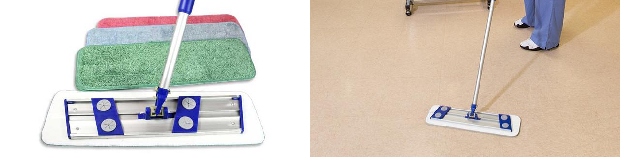 Microfiber Flat Mop Pads