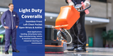 Light Duty Coveralls Are an Economical Protective  Clothing Option For Messy Tasks