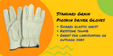 Pigskin Driver Gloves Protect Your Hands Rain or Shine