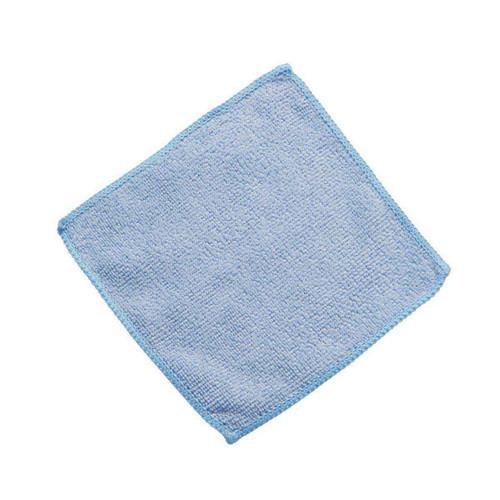 Wholesale Microfiber Cloths 6x6 Blue 200 packs