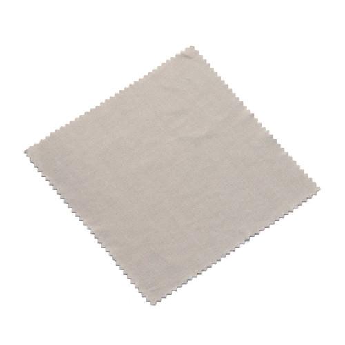 Microfiber Cloths Smooth 6x6 Gray bulk 200 packs , shown flat
