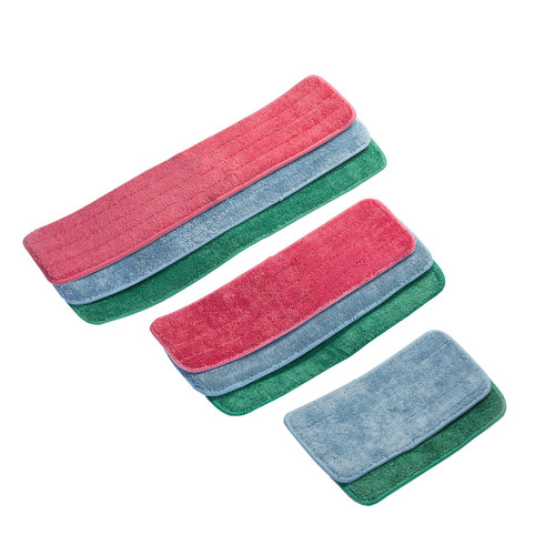 Wholesale Microfiber Mop Pads Looped Wet bulk 12 packs