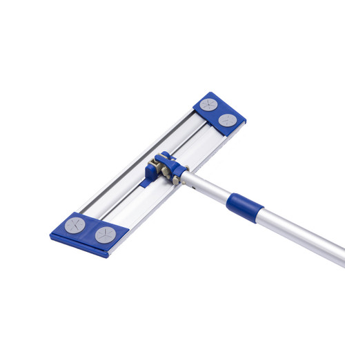 Microfiber Mop Frame with Pole, shown flat