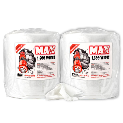 Wholesale Fitness Equipment & Surface Wipes 2 Rolls Max Roll