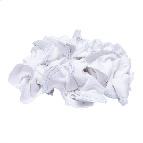 Diaper Cloth Rags Bulk New, shown crumpled