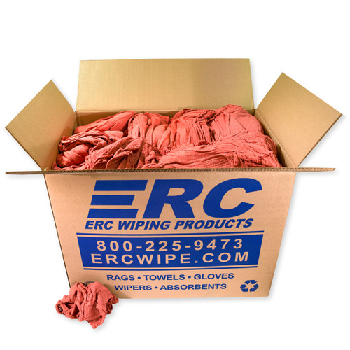 Wholesale Red Shop Towels 50 Pound Box