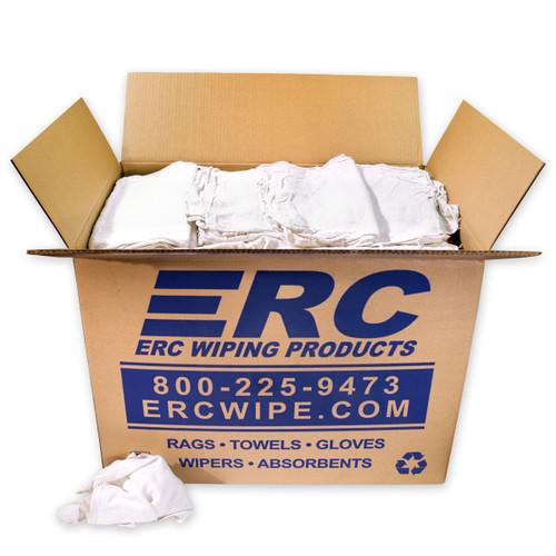 Wholesale White Shop Towels 50 pound Box