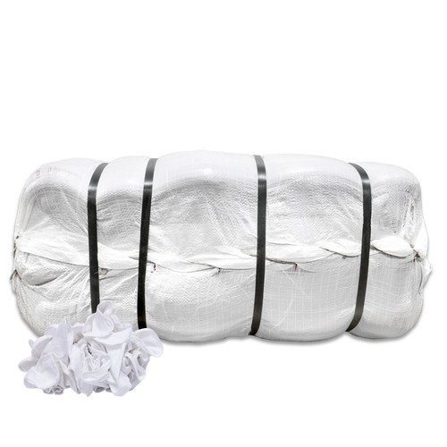 Wholesale White Shop Towels Bales New 1,250 shop towels