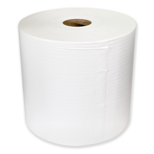 Hydrospun Cloth-Like Wipers Rolls Grade 60 White, Paper wipes, Shop Towels