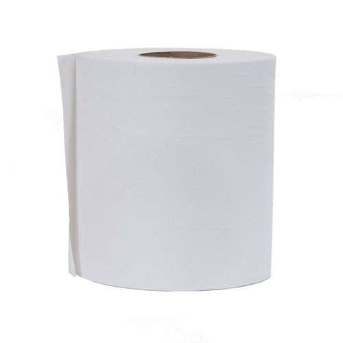 Paper Hand Towels Centerfeed 2-Ply White, shown upright