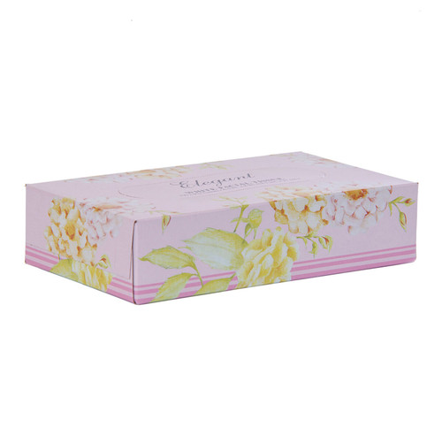 Facial Tissue 30 Boxes of 100, shown boxed
