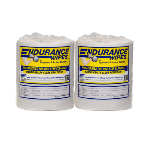 ERC Endurance Wipes 2 Roll Case - GSA, shown upright in a group of two