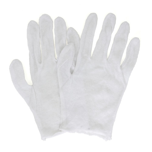 Lisle Inspector Gloves Lightweight, shown front and back