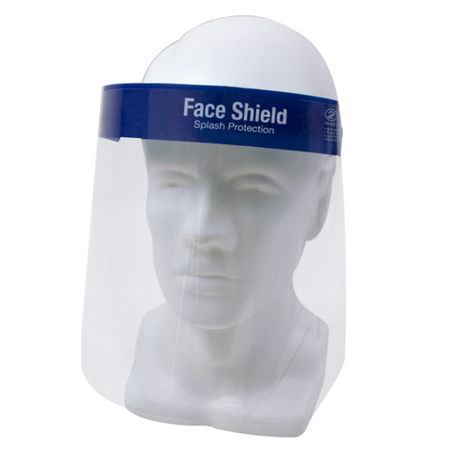 Face Shield from ProWorks®, shown from the front