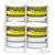 Endurance Gym Wipes  - 4 Rolls - 900 Wipes per Roll