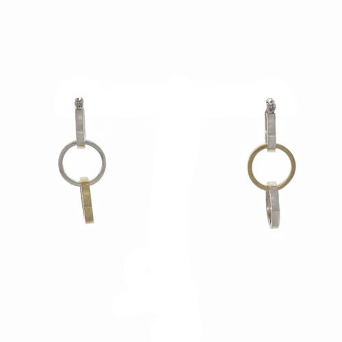 Tiffany & Co Paloma Picasso 18k Silver Triple Hoop Earrings
