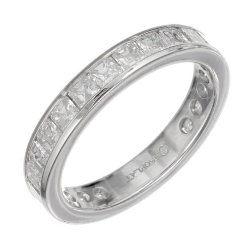 Peter Suchy 5.50 Carat Diamond Platinum Eternity Band