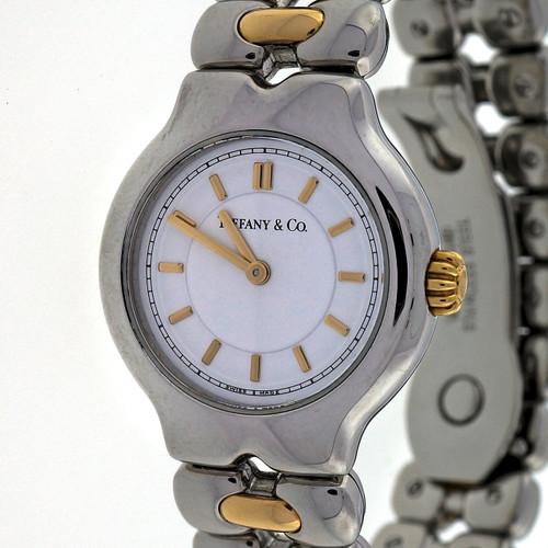 Tiffany & Co 18k Gold Steel Tesoro Watch