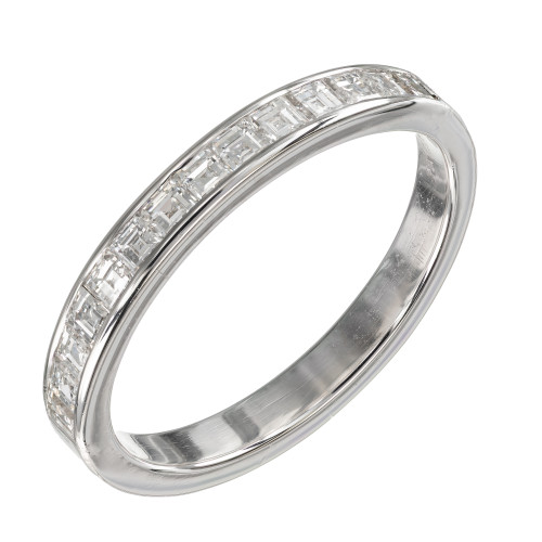 .60 Carat Diamond Platinum Wedding Band Ring