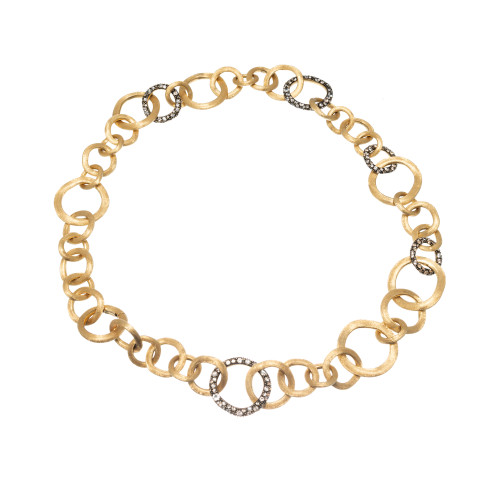 Marco Bicego Crystal Stone 18k Yellow Gold Necklace