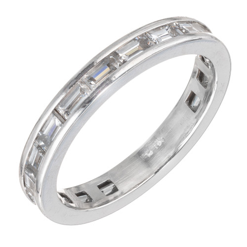 Peter Suchy 1.30 Carat Platinum Eternity Band Ring